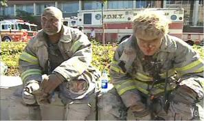Photo of 9/11 World Trade Center NIST FOIA FDNY firefighters secondary explosions