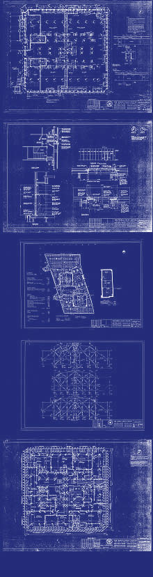 View North Tower Blueprints